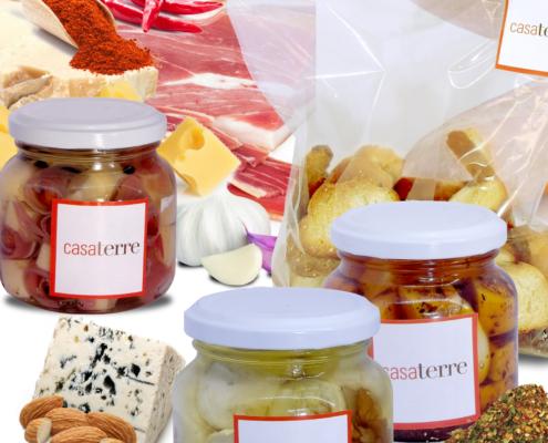Picadas y snacks caseros