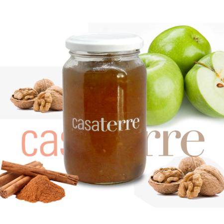 Dulce o mermelada de manzana, canela y nuez Casaterre