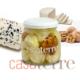 Bombas de queso azul Roquefort con nueces Casaterre
