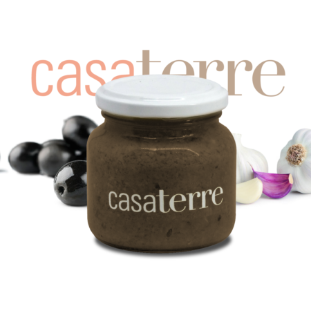 Pasta de aceitunas negras Casaterre